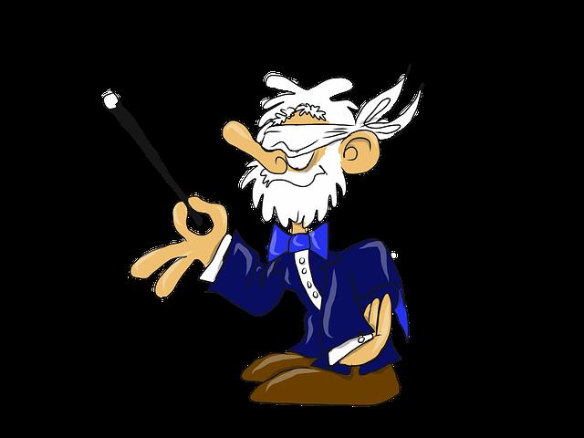 starý kouzelník