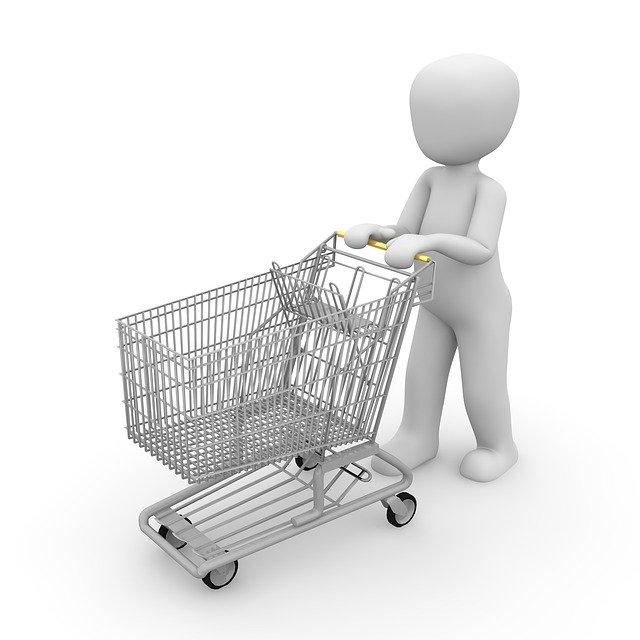 nákup s vozíkem