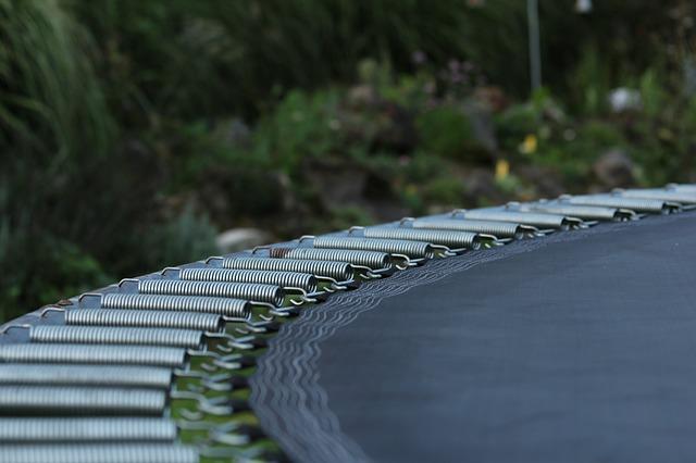 Náhradní díly na trampolínu jako součást prodeje